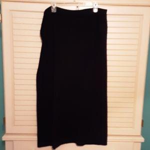 Dress barn Black Sweater Skirt, size 22/24